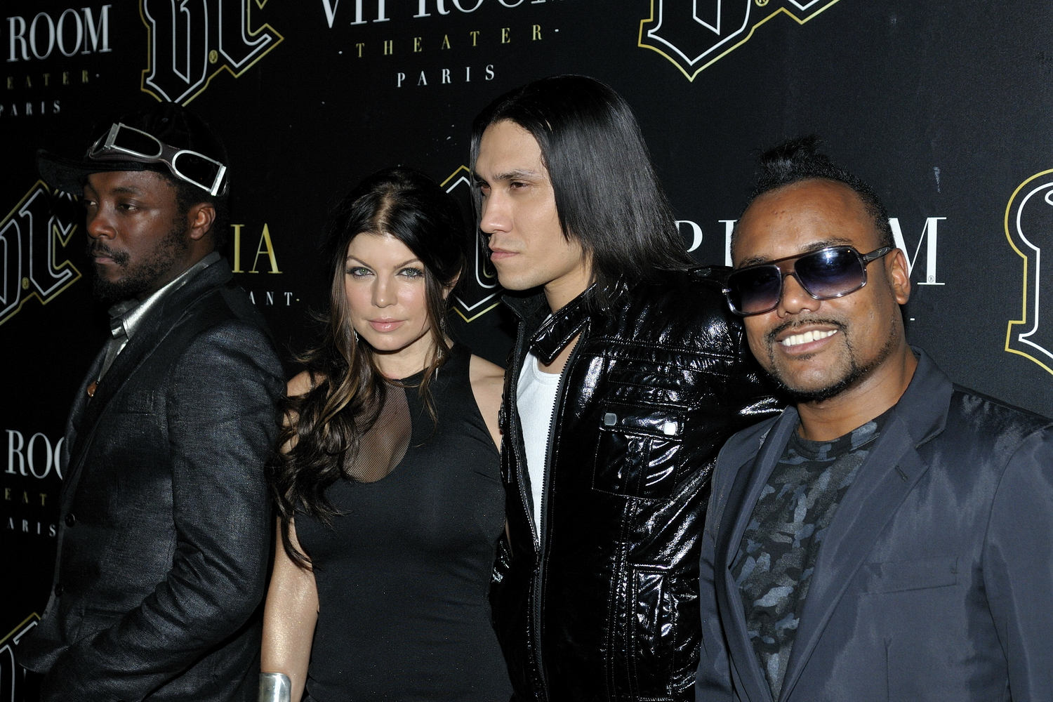 Les Black Eyed Peas en concert au VIP Room Paris