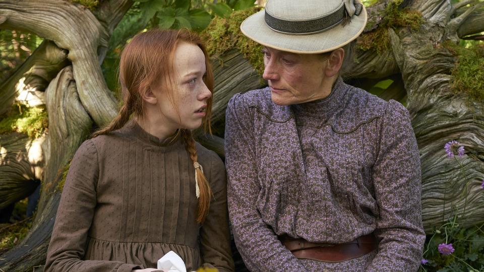 Anne con Marilla.