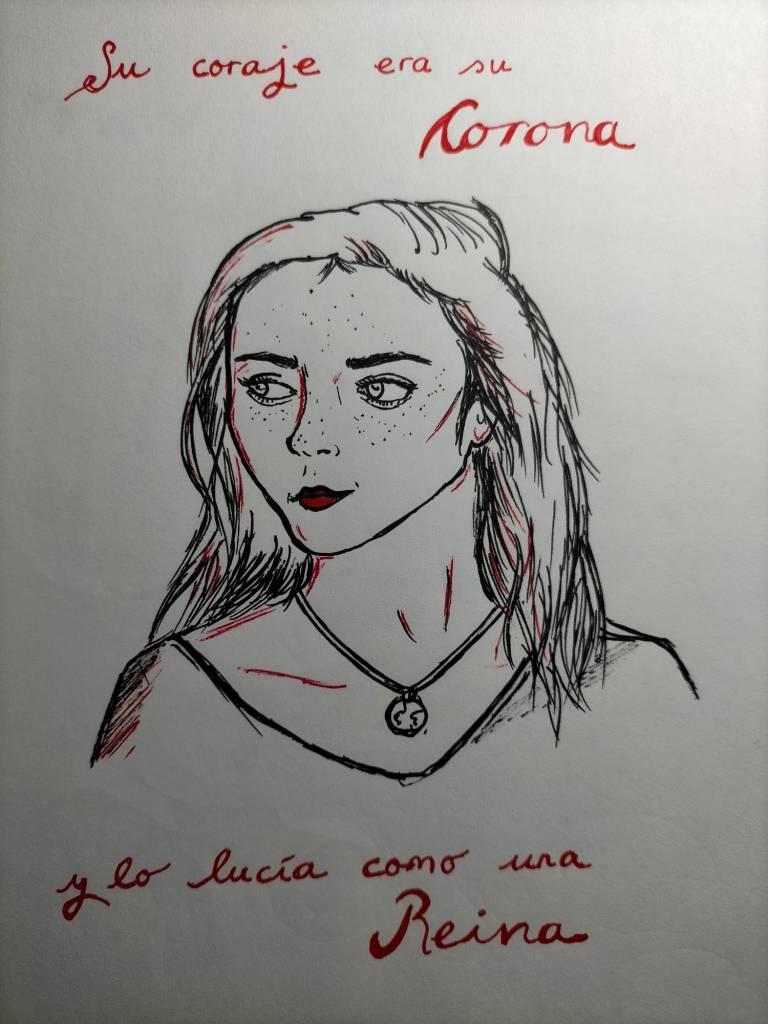 Dibujo de Mónica Miranda