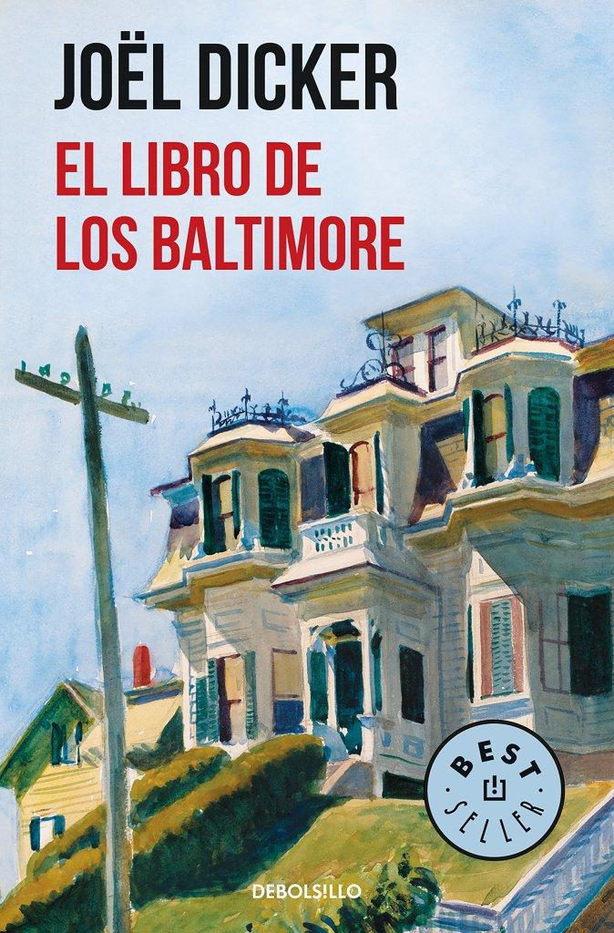 Portada de 'El libro de los Baltimore' de Joël Dicker